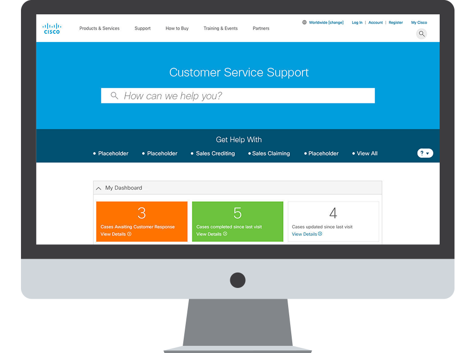 Cisco Customer Support Portal